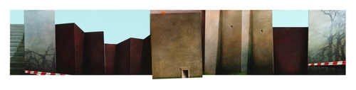 Jarek Wojcik: Museum entrance: Building 2 image