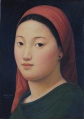 Xue Mo: Portrait of Miss Naya  image