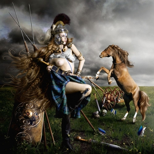 "Alexia Sinclair:""The Regal Twelve: Boudica - The Celtic Queen (AD26-61)"" image"