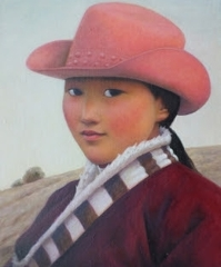 Xue Mo: Portrait of Miss Gaowa image