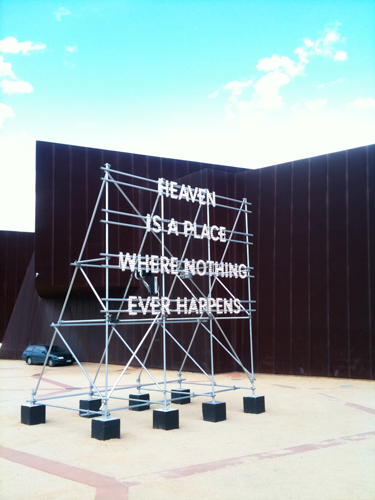 Heaven is a place where nothing ever happens image