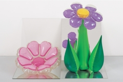 Inflatable Flowers (Short Pink, Tall Purple) image