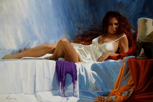 La mujer del pelo rojo II image