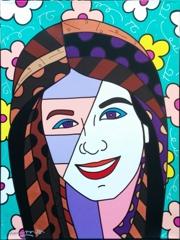 Romero Britto - Katie image