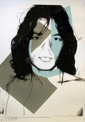 Andy Warhol - Mick Jagger FS II.138 image