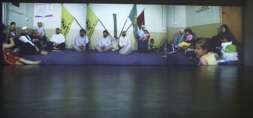 Khaled Sabsabi: Naqshbandi Greenacre Engagement  image