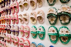 Esme Timbery: Shellworked Slippers  image