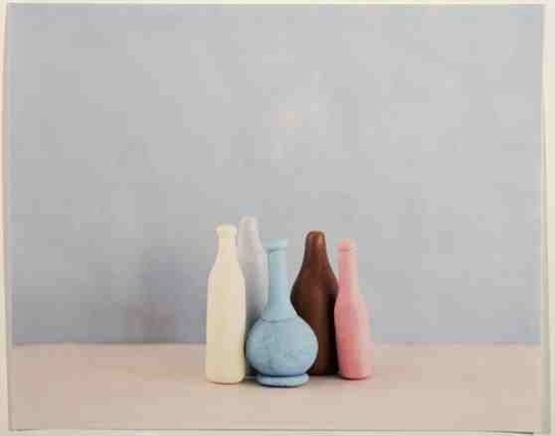 Emma White: Tautology 1,2,3 (after Morandi) Tautological Recepticals (after Morandi)  image