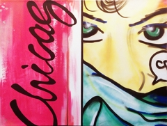 "John ""Crash"" Matos - Chicago Diptych image"