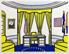 Roy Lichtenstein - Oval Office image