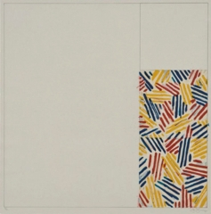 "Jasper Johns - #4, From 6 Lithographs (After ""Untitled 1975"") image"
