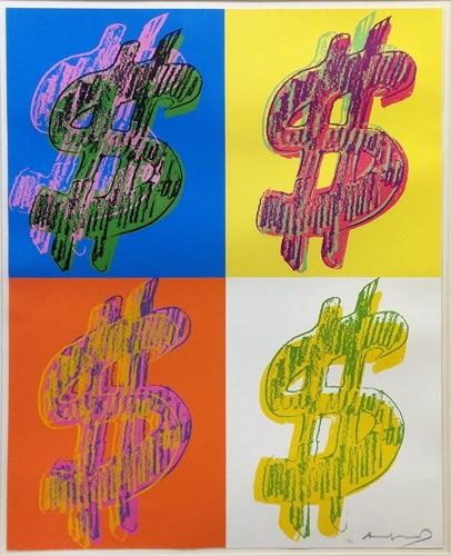 Andy Warhol - $ (Quadrant) image