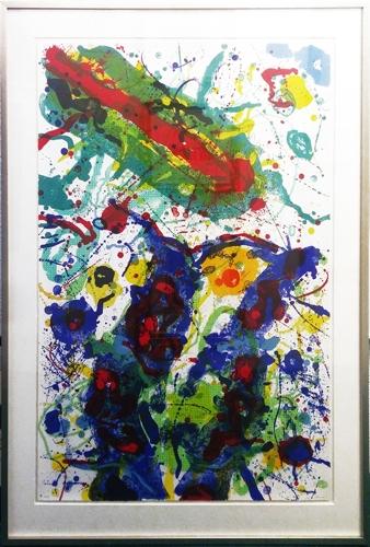 Sam Francis - Untitled Abstract image