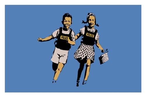 Banksy - Jack and Jill image