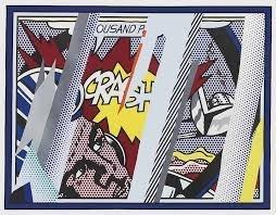 Roy Lichtenstein - Reflections on Crash image