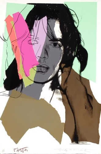 Andy Warhol - Mick Jagger (II.140) image