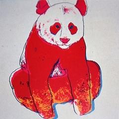Andy Warhol - Giant Panda image