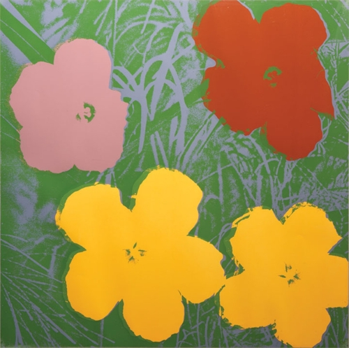 Andy Warhol - Flowers II.65 image