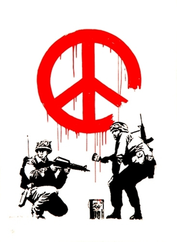 Banksy - CND Soldiers image