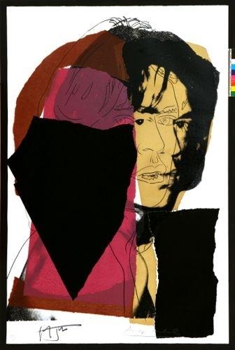 Andy Warhol - Mick Jagger (II.139) image