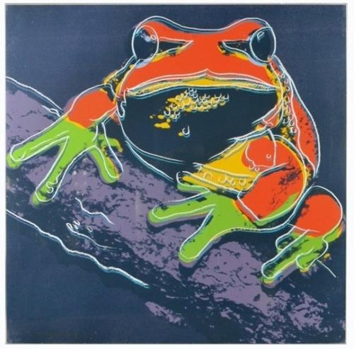 Andy Warhol - Pine Barrens Tree Frog image