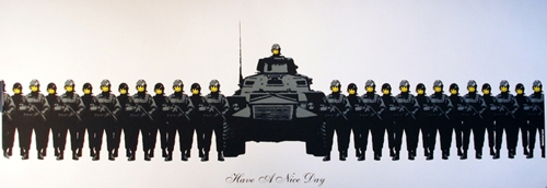 Banksy - Have a Nice Day  image