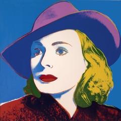 Andy Warhol - Ingrid Bergman; With Hat image
