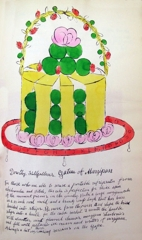 Andy Warhol - Dorothy Killgallen's Gateau of Marzipan From Wild Raspberries image