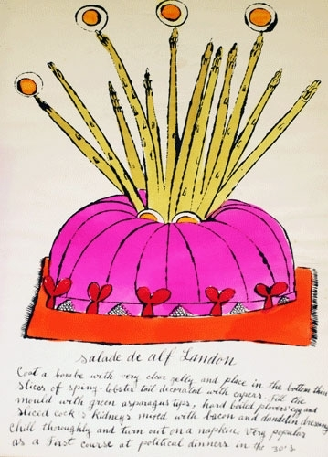 Andy Warhol - Salade de Alf Landon image