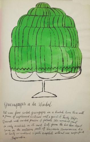 Andy Warhol - Greengages a la Warhol image
