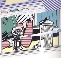 Andy Warhol - Reflections on Soda Fountain image