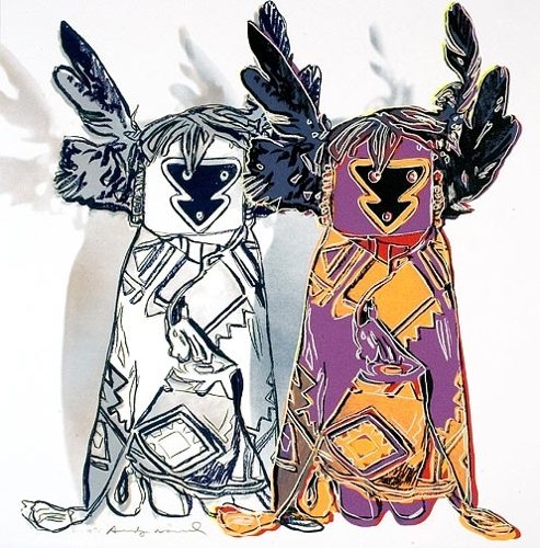 Andy Warhol - Kachina Dolls (From Cowboys and Indians) (II.381) image