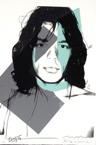 Andy Warhol - Mick Jagger (II.138)  image