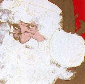 Andy Warhol -Santa Claus From the Myths portfolio (II.266)  image