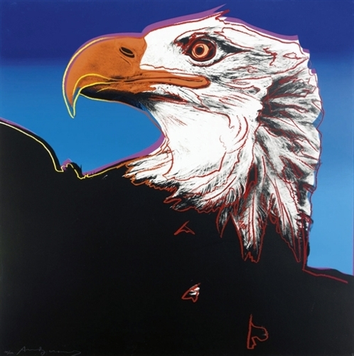 Andy Warhol - Bald Eagle (II.296) image