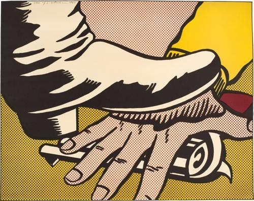 Roy Lichtenstein - Foot and Hand (C. II.4)  image