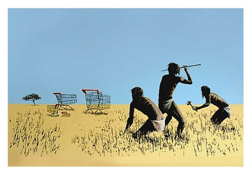 Banksy - Trolley Hunters - Trolleys image