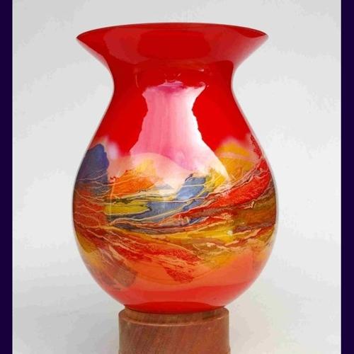 300 mm tall vase image