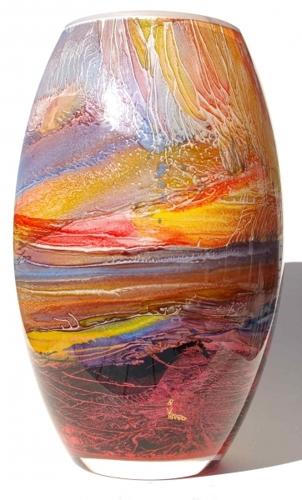 600 mm barrel vase image