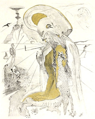 Salvador Dali - Athena image