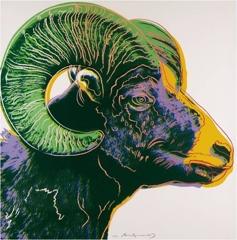 Andy Warhol - Bighorn Ram (II.302) image
