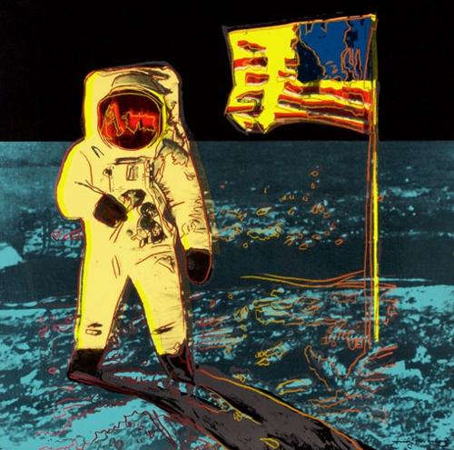 Andy Warhol - Moonwalk (II.404 Yellow) image