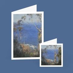 Arthur Streeton—Ocean blue, Lorne cards  image