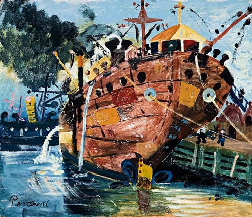 John Perceval The Hull, Williamstown  image