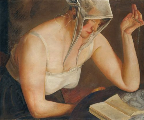 Woman Reading image