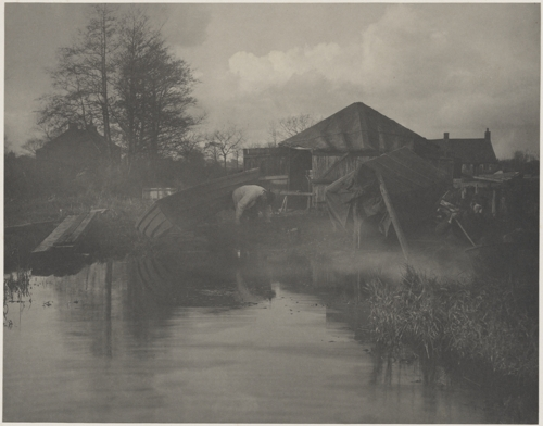 [A Norfolk Boat-Yard] image