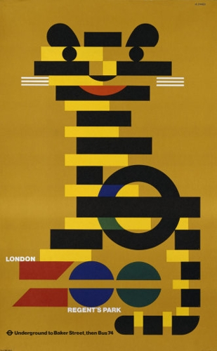 Zoo/Tiger for London Transport image