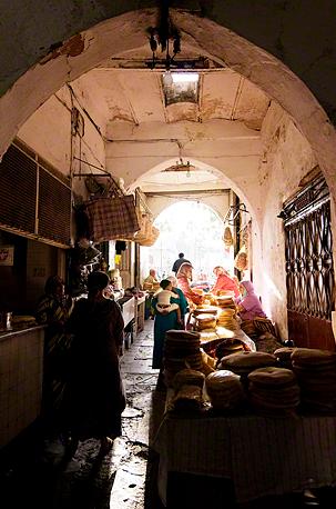 Tangier Mini Market Life, Morocco  image