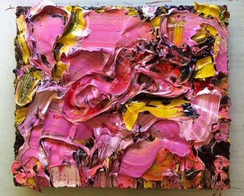 Pink Yellow Sworl  image