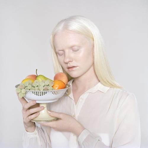Lauren with Fruit  image